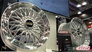 A peel inside the production areas at BBS in Germany.   Watch this video to see the incredible manufacturing process of BBS Wheels.  BBS has been offering forged aluminum wheels in the aftermarket since 1983.  Our special multi-stage Die-Forging process h