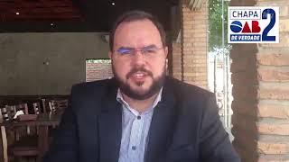 Carlos Brissac - Candidato à presidência da OAB/MA