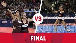 Resumen Final Femenina (Marrero/Salazar Vs Mapi/Majo) Estrella Damm Master Final 2018