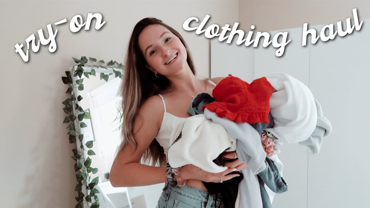 [VIDEO] - back to school try-on clothing haul for college | Zoe Maya 4