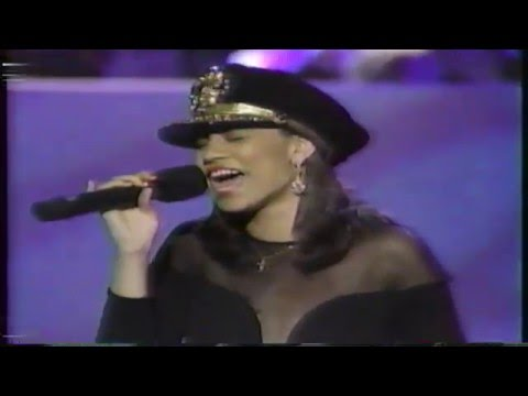 Tracie Spencer on an Awards Show (1991)