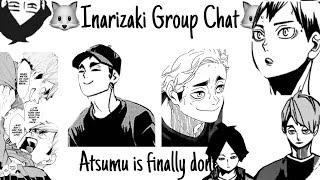 Haikyuu texts - Atsumu is finally done...