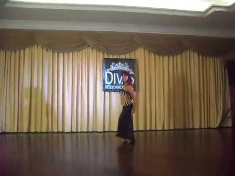 Elaine Angel-1° Divas Bellydance Brasil-1° Lugar Categoria Solo Amador