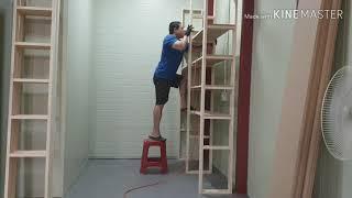 창고형 선반 수납장 만들기 storage shelf
