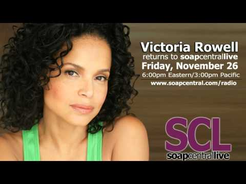 Victoria Rowell returns to Soap Central Live