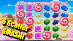6 Scatter SMASH! - Getting some hits! - Online Slots - Rizk - The Reel Story