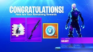 Comment débloquer le GALAXY SPRAY - WRAP! - Fortnite NEW GALAXY BUNDLE SET ITEMS!