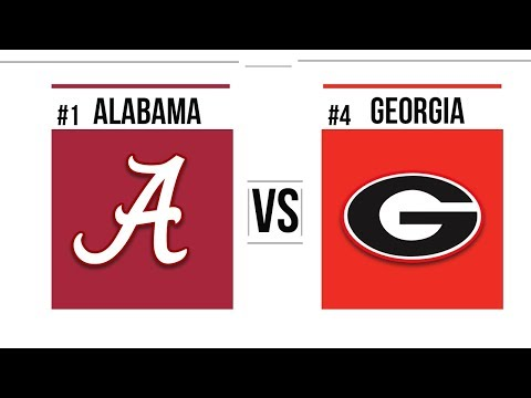 2018 SEC Championship #1 Alabama vs #4 Georgia Full Game Highlights