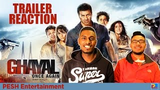 Ghayal Once Again Trailer Reaction | PESH Entertainment