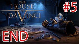 The House Of Da Vinci - Walkthrough Gameplay ( iOS / Android / STEAM )- PART 5