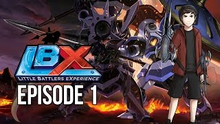 Little Battlers eXperience LBX - Episode 1