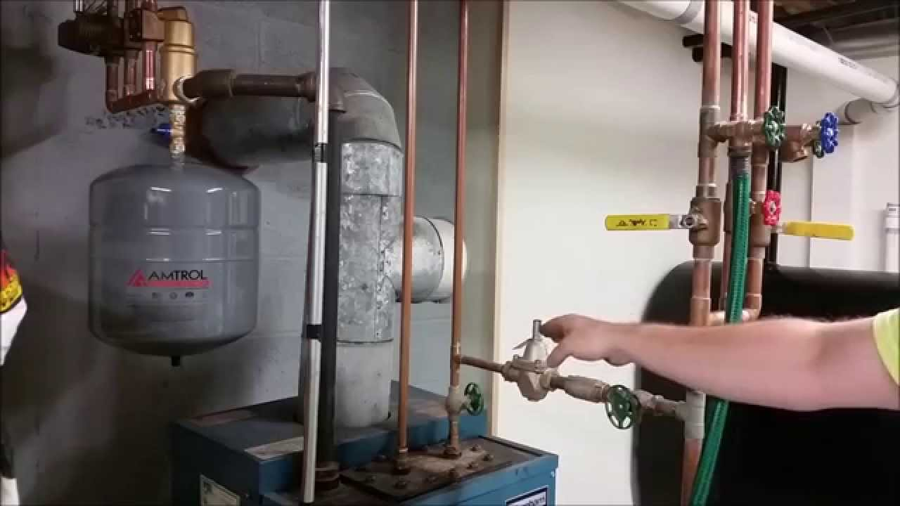 Forced Air Wiring Diagram How To Remove Air From Your Heating System Youtube