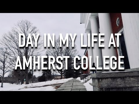 VLOG 032: DAY IN MY LIFE AT AMHERST COLLEGE 2