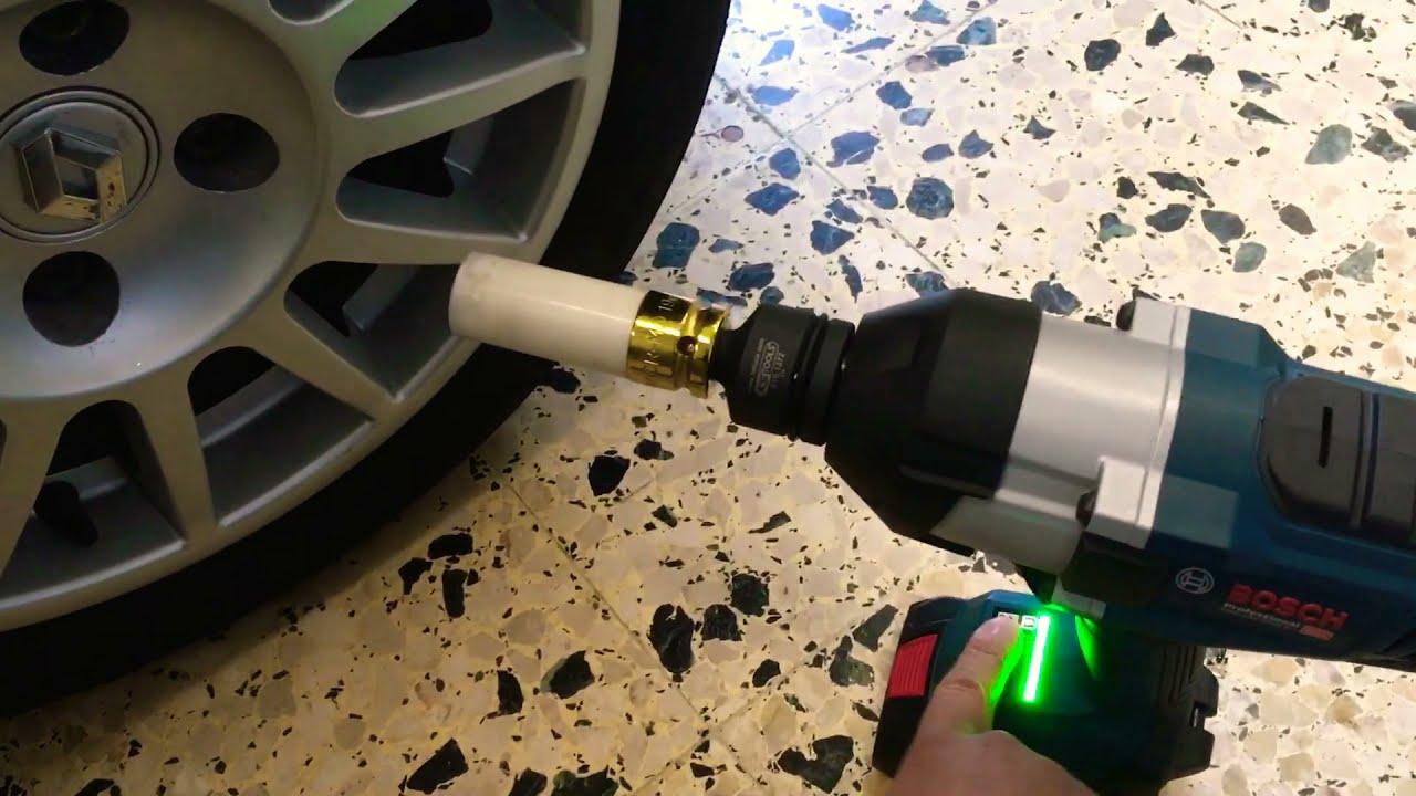 Test Bosch GDS 18V-1050 H [roue de voiture] - boulonneuse / clé à choc