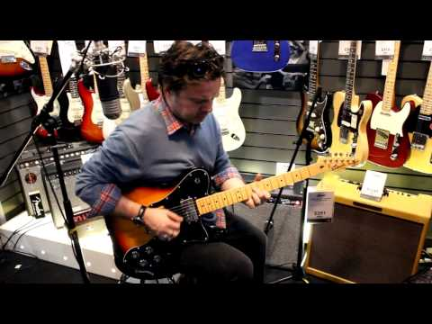 Squier Vintage Modified Telecaster review with Damon Chivers