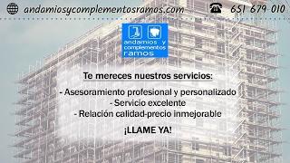 [776.00 KB] Andamios y complementos Ramos. Fabricación y venta de materiales de construcción en Valencia