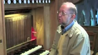 L'orgue de l'église de Plougasnou, Trégor, Finistère, Bretagne
