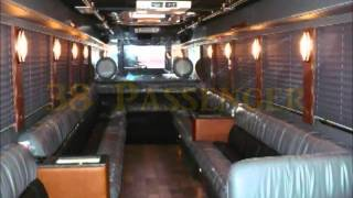 Clean Ride Limo Super Limo Party Bus