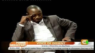 Power Breakfast interview: Voice Of Dissent Part 1