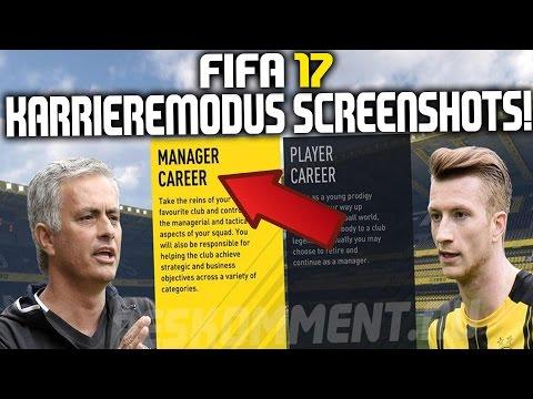 FIFA 17 KARRIEREMODUS SCREENSHOTS!!! | BBVA-LIZENZ, EIGENER MANAGER, DESIGNS ETC.