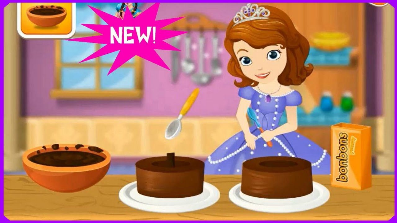 Watch Learn With Sofia Cooking Princess Cake Game Review Cooking