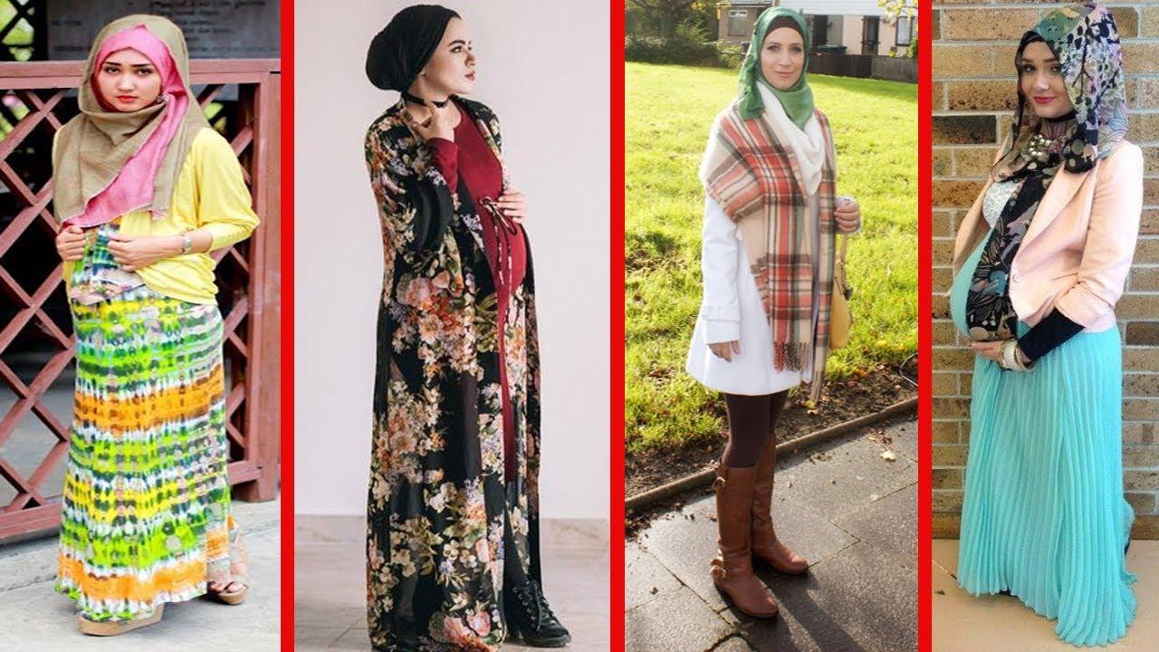 d84e5e3c18c54 Lookbook Hijab Maternity Fashion Trends - Hijab Style For Pregnant Womens