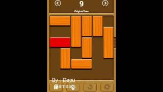 Unblock me Free ( Relax Mode ) Puzzle 8, 9