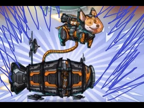 Mutants Genetic Gladiators - Cosiguiendo a Drei, Space Corgi