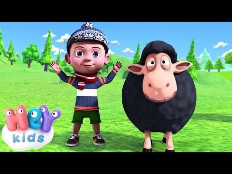 Pecorella Nera 🐑 Canzone per Bambini