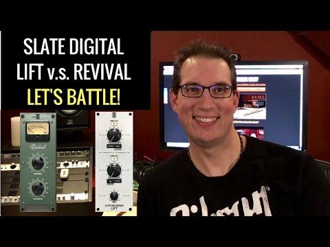 Slate Digital  - Custom Series Lift vs Revival Plugin