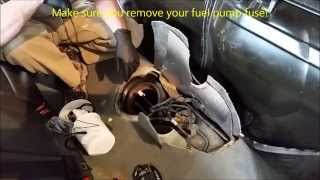 Saab 9-3 Fuel Pump Replacement