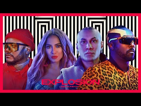 eXplosion - The Black Eyed Peas & Anitta Instrumental  with vocals of The Black Eyed Peas
