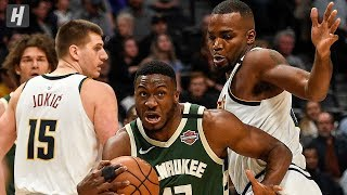 Gambar cover Milwaukee Bucks vs Denver Nuggets - Full Game Highlights | March 9, 2020 | 2019-20 NBA Season