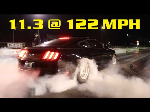 Full Bolt On Coyote 11.3 @ 122 MPH 1/4 Mile