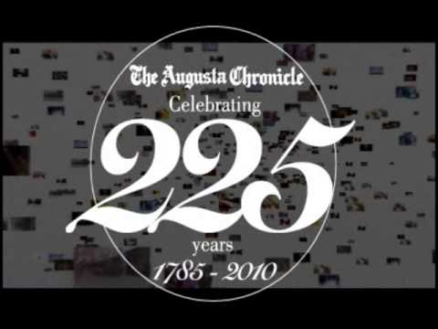 225th Anniversary of The Augusta Chronicle