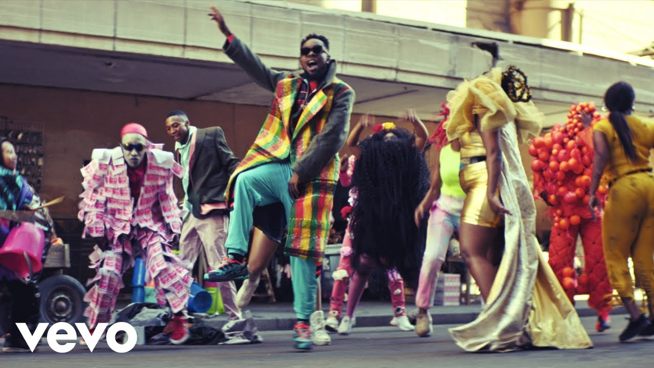 Patoranking - Open Fire (Official Video) ft. Busiswa