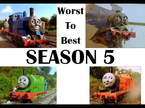Thomas & Friends: Season 5 Episodes Worst To Best