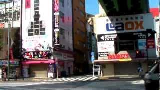 Tokyo #6 - Walk from hotel to Akihabara streets