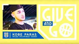 Give and Go with Kobe Paras