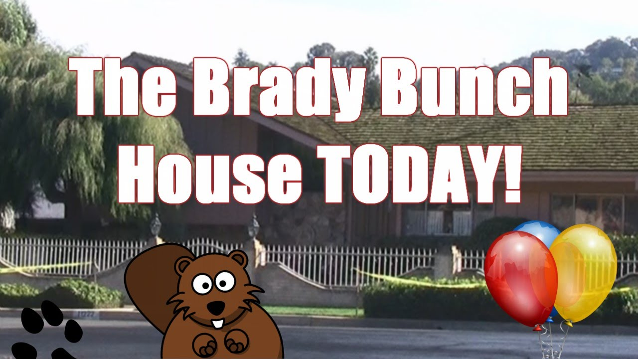 The Brady Bunch House Today!   YouTube Part 55