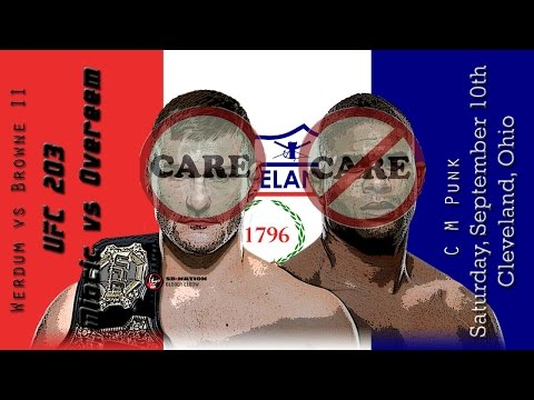 UFC 203 Miocic vs Overeem Care/Don't Care Preview