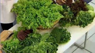 Салат листовой - польза и вред. Полезный салат