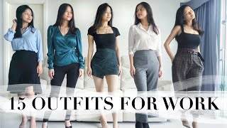 ASOS Workwear Try On Haul I 7 Items, 15 Outfits