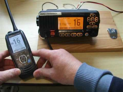 Marine VHF DSC TEST CALL