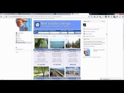 How to install FacebookTab's Real Estate Listing Application