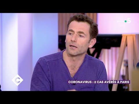 Coronavirus : la France se prépare - C à Vous - 25/02/2020