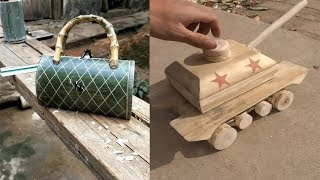 Amazing 11 Creative handcraft  Woodworking skill