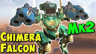 Ultimate TROLL Falcon with Mk2 Chimera & Thunder - War Robots Gameplay WR