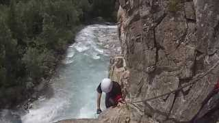Via ferrata  - Saint Christophe en Oisans (38) - Juillet 2014