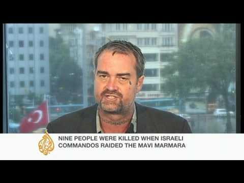 Gaza activist denies 'terrorist' tag